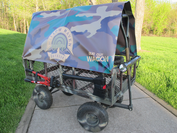 Diy Canopy For Wagon