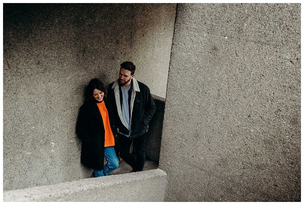 Barbican engagement shoot
