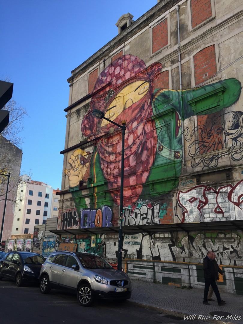 Some Great Street Art In Lisbon Portugal Will Run For Miles