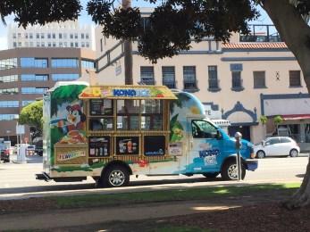 Shave Ice Truck in Santa Monica