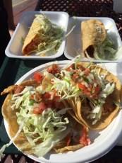 Tacos von Rigoberto's in La Jolla