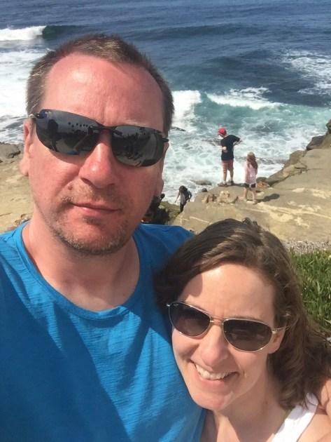 Selfie in La Jolla