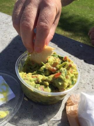 Californian supermarket guacamole