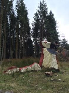 Mythical Beastie bei Tighnabruaich - Glen Caladh