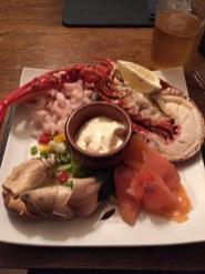 Seafood Platter im Lochside Hotel