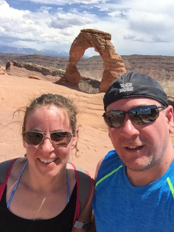 Arches Selfie!