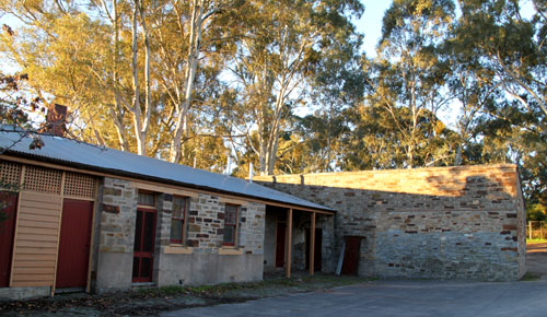 Rear of the Clare Courthouse SA