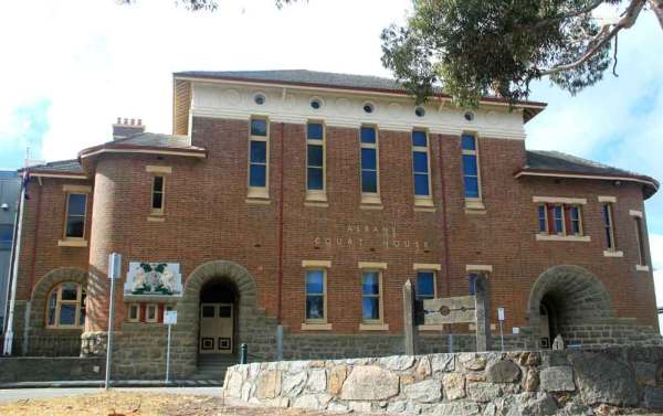 Albany Courthouse, 184 Stirling Terrace, Albany, Western Australia.