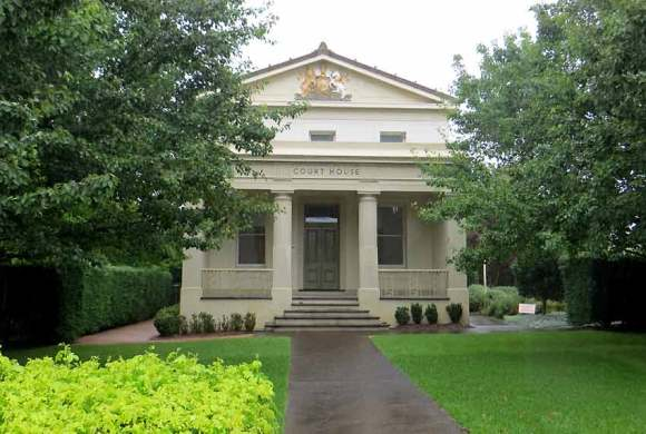Berry Courthouse, old Australian courthouses, early Australian courthouses