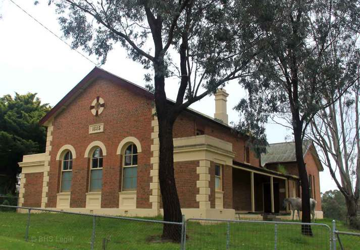 Binalong Courthouse, Binalong, Australian legal history, early australian courthouses, old Australian courthouses, colonial Australian courthouses