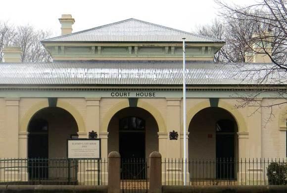 Blayney Courthouse, Australian Courthouses, old Australian courthouses, colonial courthouses, courthouse, early Australian courthouses,