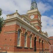 Buninyong Courthouse, Victoria, early Australian courthouses, old Australian courthouses, Australian legal history, Colonial Australian courthouses