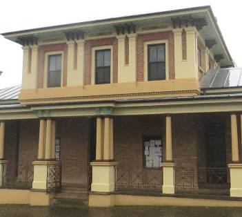 Carcoar Courthouse NSW, historic Australian Courthouses,Australian colonial courthouses, early Australian courthouses,