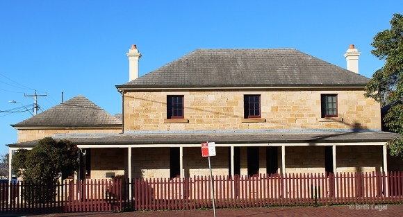 Coonabarabran Courthouse, NSW, early Australian Courthouses, Colonial Australian courthouses, Australian legal history