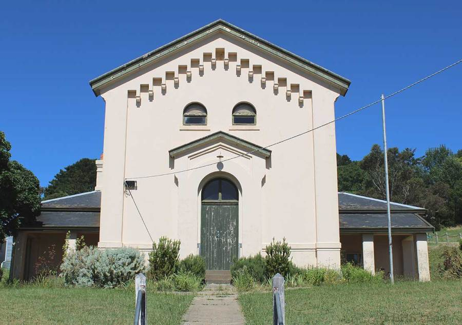 Daylesford Courthouse, Victoria, early Australian courthouses, Australian legal history, Colonial Australian courthouses