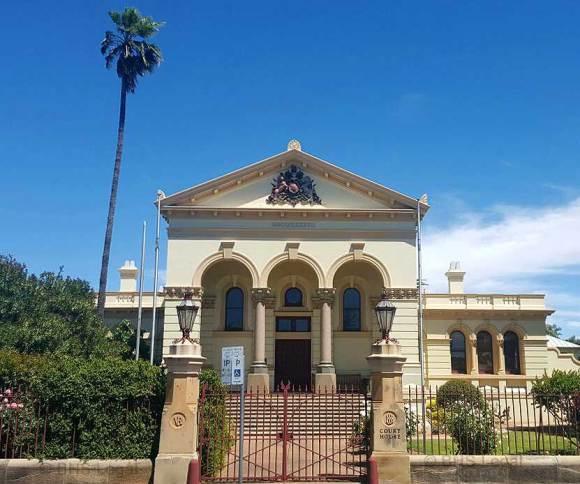 Dubbo Courthouse NSW, Dubbo, early Australian Courthouses, Australian legal history, old Australian courthouses,