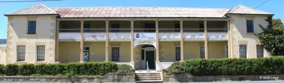 old Fingal Courthouse, Tasmania, Australian courthouses, early Australian courthouses, colonial Australian courthouses,
