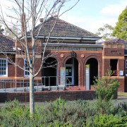 Hornsby Courthouse, early Australian courthouses, old Australian Courthouses, administration of justice