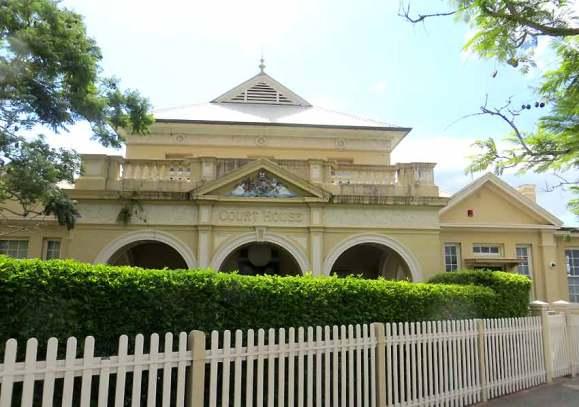 Kempsey Courthouse, early Australian courthouses, old Australian courthouses