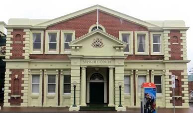 Launceston Supreme Court, Tasmania, early Australian Courthouses, old Australian Courthouses, courthouses,