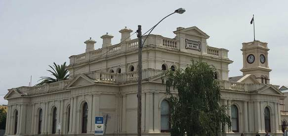 Maryborough Courthouse, Victoria, old Australian courthouses, Australian legal history, Colonial Australian Courthouses