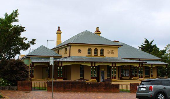 Milton Courthouse, NSW, early Australian courthouses, old Australian courthouses, colonial Australian courthouses, Australian legal history, legal history,