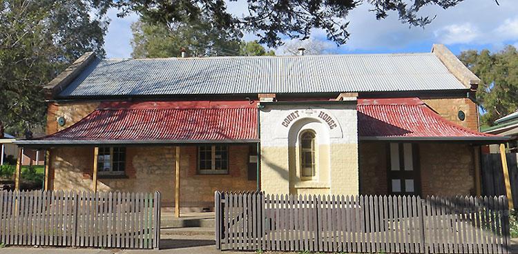 Morphett Vale, Old courthouses, early courthouses, Morphett Vale Courthouse, Australian Courthouses