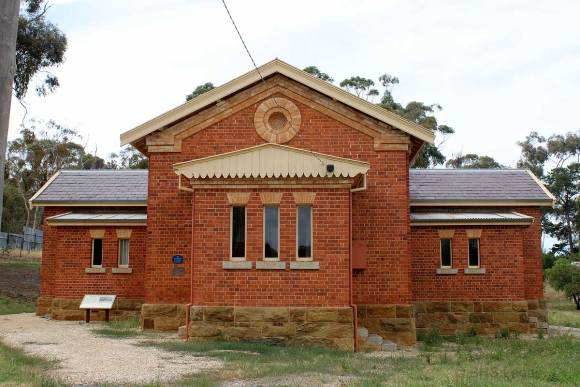 Newstead Courthouse (former) 1863, Victoria, colonial Australian courthouses, early Australian courthouses, Australian legal history
