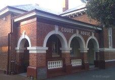 Northam Courthouse, early Australian courthouses, Australian courthouses, old Australian courthouses