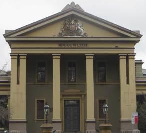 Orange Courthouse, Australian courthouses, early Australian courthouses, old Australian courthouses