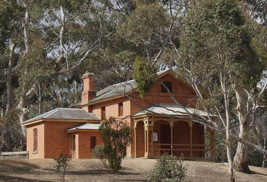 Steiglitz Courthouse, early Australian courthouses, Colonial Australian Courthouses, Australian legal history