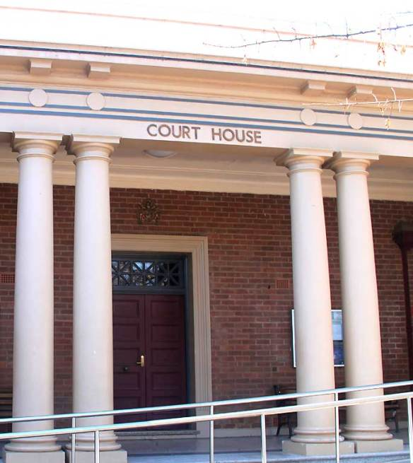 early Australian courthouses, Australian legal history, old Australian courthouses, Young Local Courthouse