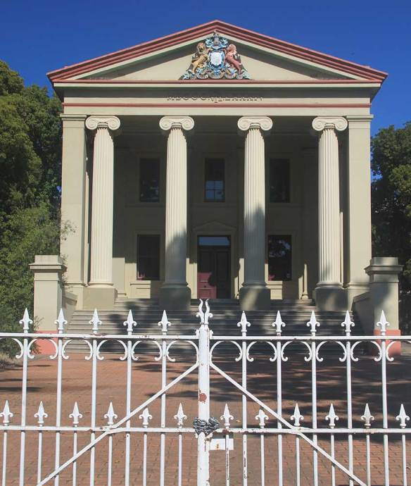 Young-Courthouse-(former), Australian legal history, early Australian courthouses, old Australian courthouses, colonial Australian courthouses