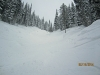 Same Gully looking up. Siver Star