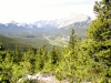 First view south into Kananaskis Valley