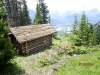 Cabin in the Col on way down