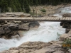 The bridge over the creek leading to Twin Falls