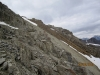 Another shot of grey & red scree gully