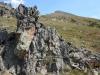 Rock formation Peak Two behind