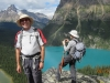 Bill and Lake O'Hara at Opabin Prospect
