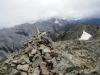 Cairn on summit