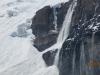 Avalanche from Victoria Glacier