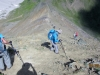 Working down Pocaterra Ridge