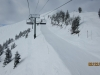 Cat track now runs along Redemtion Ridge