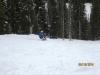 Sit skier on Goats Eye