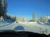 Road to Mt Shark Ski Trails