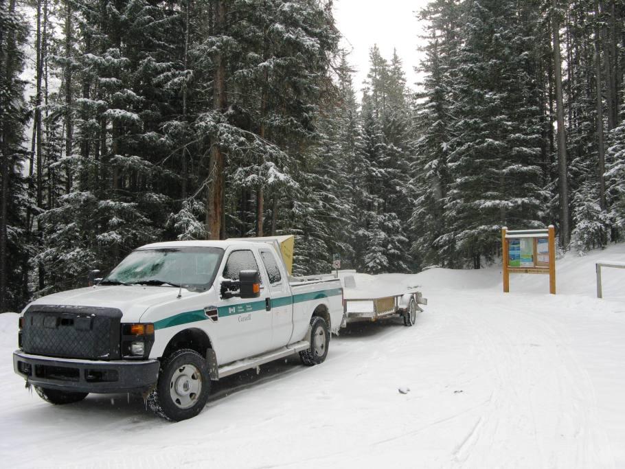 Parks Canada Tracksetter Vehicle