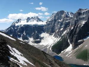 Mt Fay & Mt Quadra with Consolation Lakes