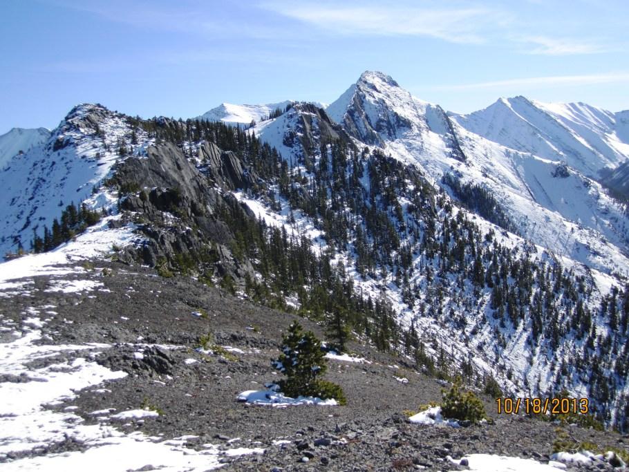 Wasootch Ridge to Summit