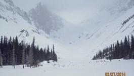 Burstall Pass Cross Country Skiing